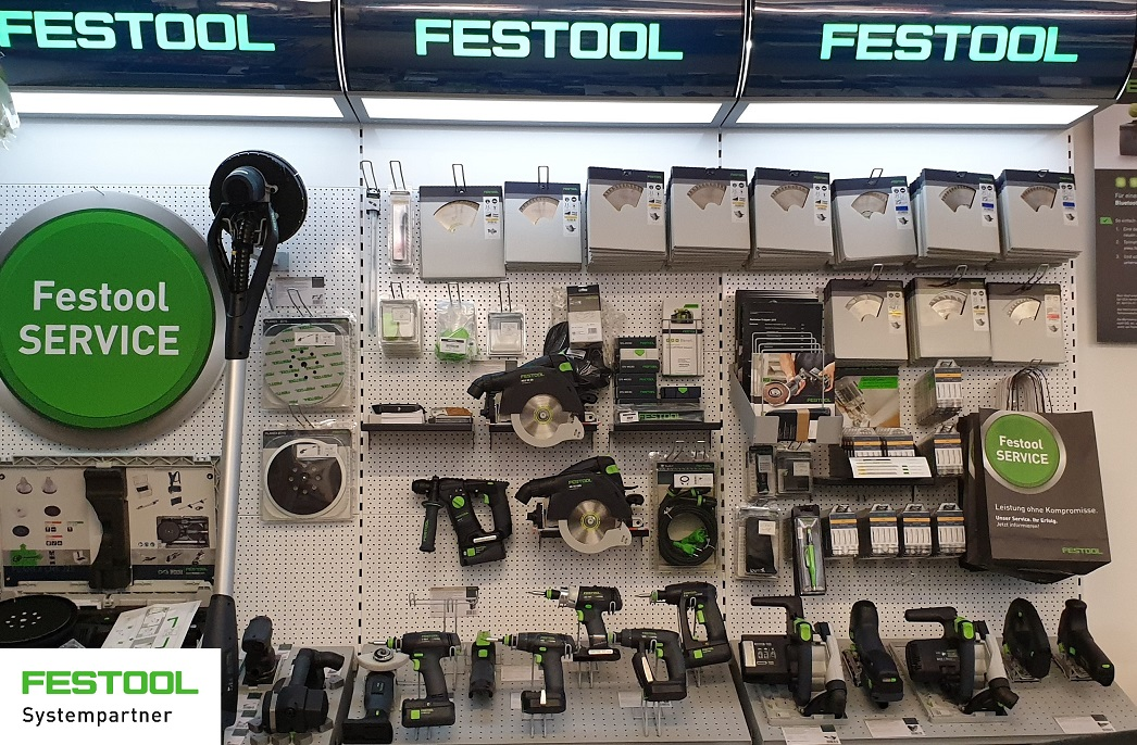 Festool_Produktwand_Shop_Systempartner
