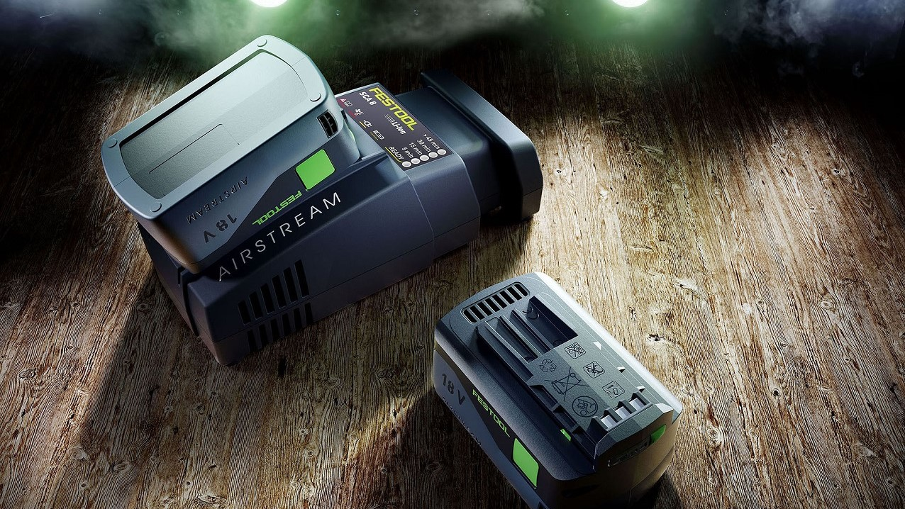 Festool_Airstream_Akku_Lader