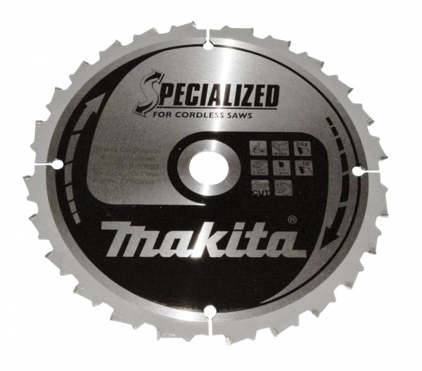 Makita Sägeblatt Specialized 190mm x 20mm x 24Z - B-33657